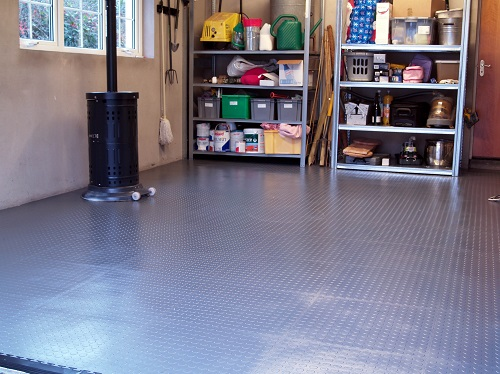 Garage Flooring Tiles : Garage flooring ideas for men paint tiles and epoxy coatings